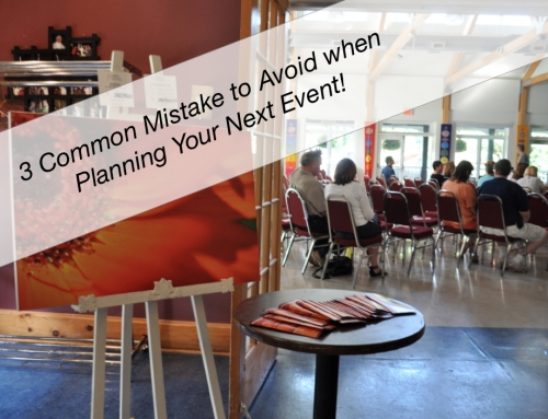 Free Webinar: 3 Mistakes to Avoid When Planning Your Next Event